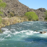 Reflexiones, un río, un tiempo, un lugar...