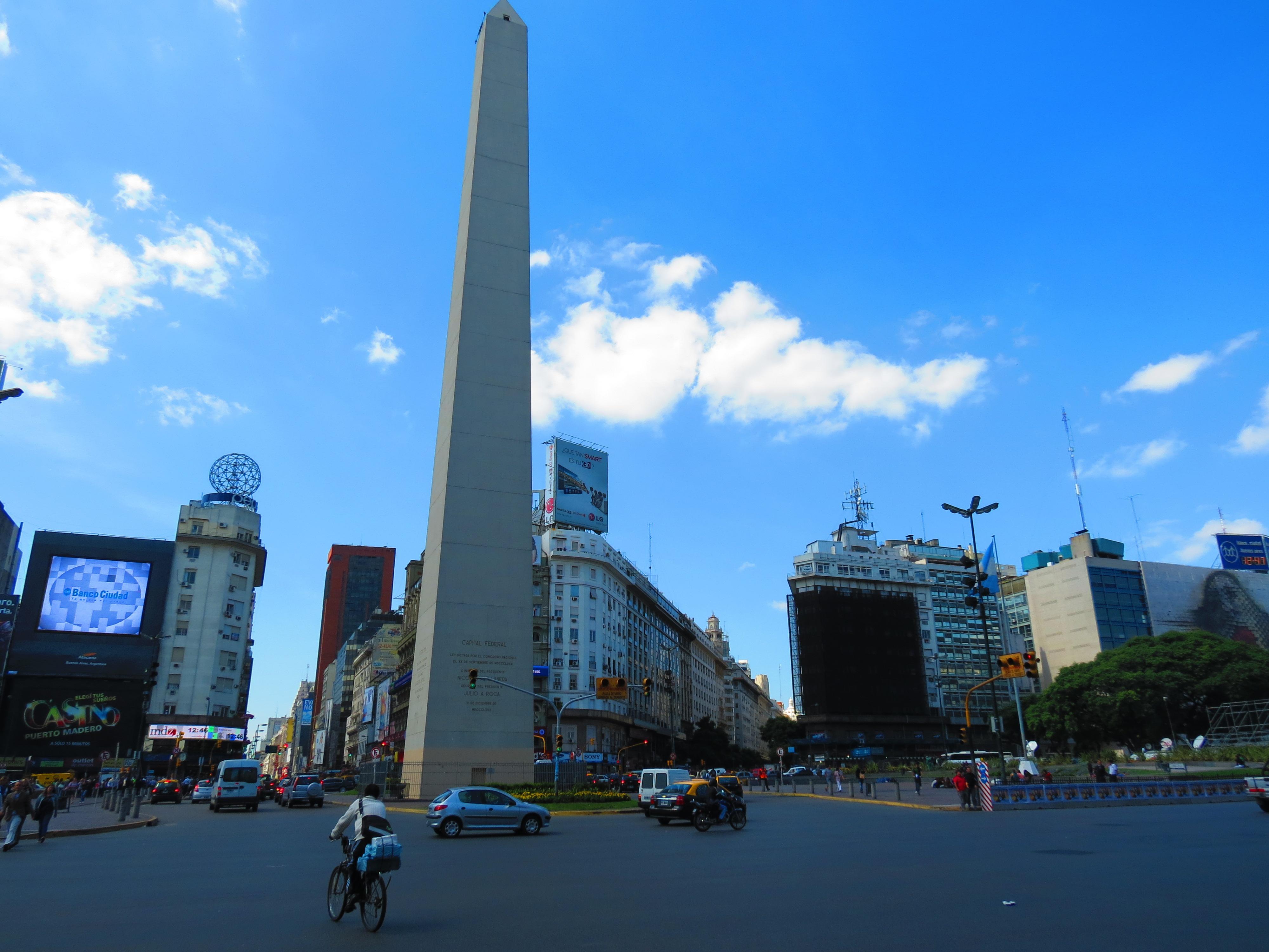 Hola buenos aires cruzdelsur for Obelisco buenos aires