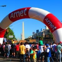 Conociendo Buenos Aires en un día de circuito automovilístico callejero...