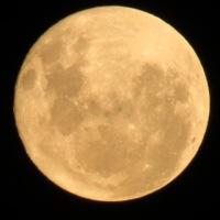 Luna llena..., en el hemisferio sur...