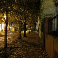 Una noche de otoño, aquí en Victoria, un pueblo de Buenos Aires...